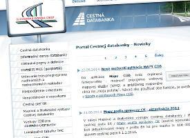 Portál Cestnej databanky