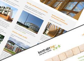 Kontrakting - stavby z dreva