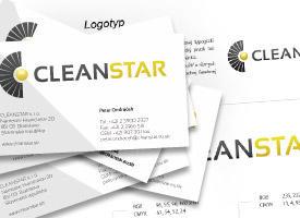 CLEANSTAR - vizuálna identita
