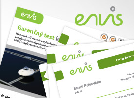 ENVIS, s.r.o. - vizuálna identita