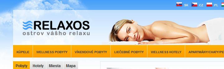 Analýza webstránky www.Relaxos.sk