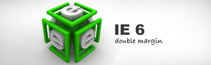 Double margin chyba pri floatovaných elementoch a Internet Explorer 6