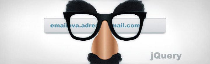 Maskovanie e-mail adresy pomocou jQuery pluginu ako obrana proti spamovaniu