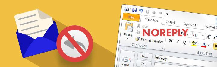 Prečo neodpovedať na e-maily od odosielateľa noreply a no-reply