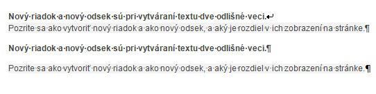 novy-riadok-odsek