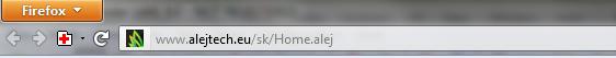 URL lišta v novom Firefoxe