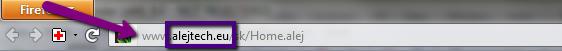 Zobrazenie URL adresy