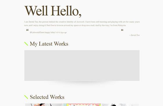 minimalistic-wellhello