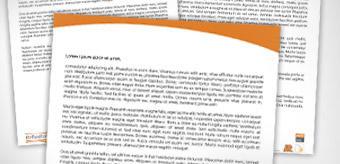 Hlavičkový papier a firemné tlačoviny