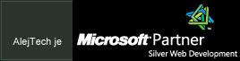AlejTech je Microsoft Partner, Silver Web Development
