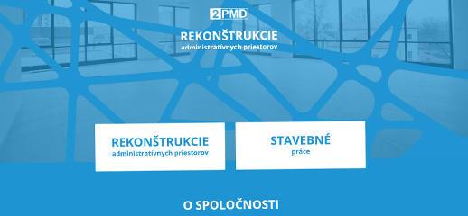 2 PMD, s. r. o. - rekonštrukcie administratívnych priestorov