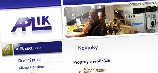 Redesign web stránky Aplikspol.sr.o.