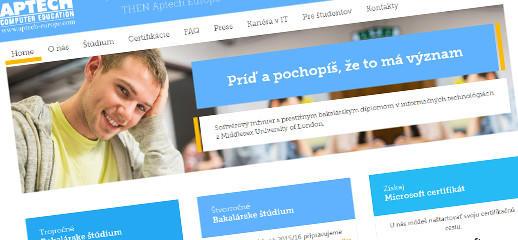 Odborné IT štúdium so študijnými programami Aptech Europe