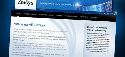 Arisys.sk - technológie pre inteligentné domy