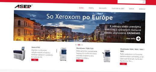A.S.E.P., spol. s r. o. - autorizovaný partner XEROX