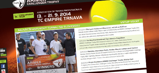 ARIMEX Challenger Trophy - atptrnava.sk