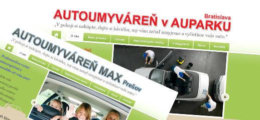 Autoumyváreň Aupark Bratislava a Max Prešov