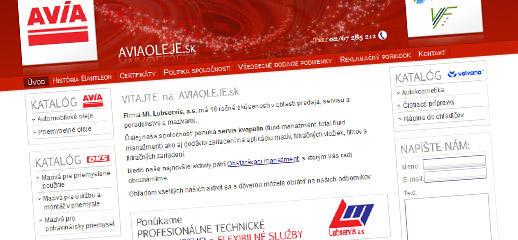 Aviaoleje.sk - servis a poradenstvo v oblasti mazív