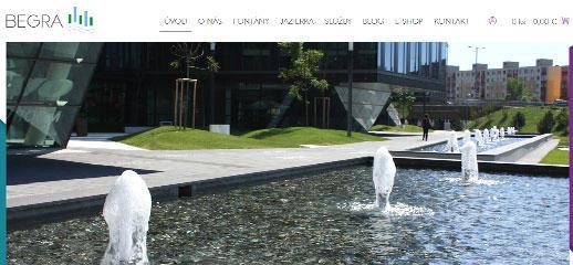 Begra - nový web a e-shop