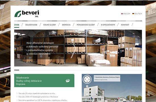 Bevori – skladovanie, colné služby, doprava