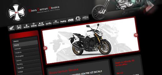 Predaj motocyklov - Bikers Centrum Slovakia