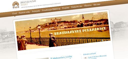 Nový webový portál Bratislavské rožky