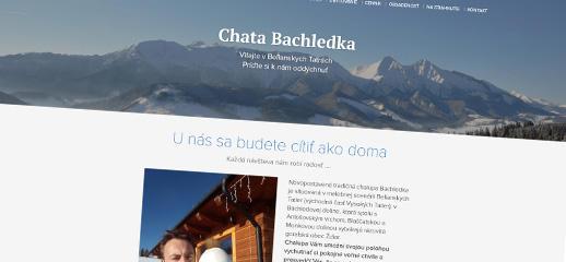 Chata Bachledka má nový web