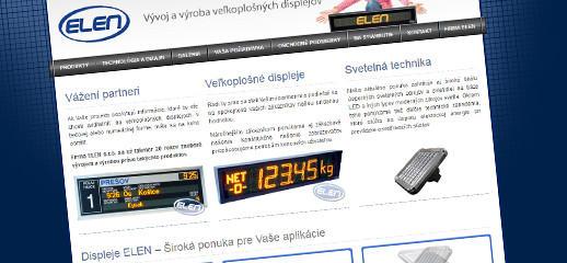 Nový e-shop pre výrobcu displejov ELEN