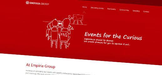 Empiriagroup.eu – redizajn webstránky
