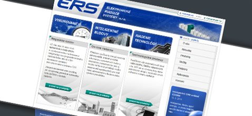 Elektronické riadiace systémy - redizajn webstránky