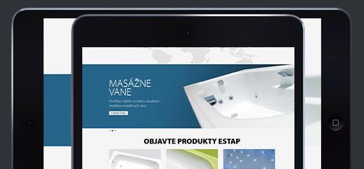 Estap – masážne vane, sprchovacie misy