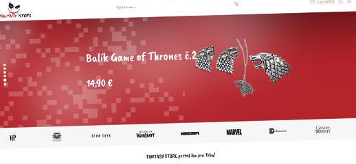 Fantasy Store - nový e-shop pre nadšencov fantasy