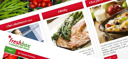 Freshbox - pät zdravých jedál denne
