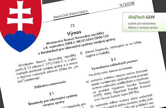 AlejTech GOV – systém pre štátnu a verejnú správu