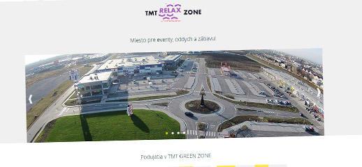 TMT GREEN ZONE - nová responzívna webstránka