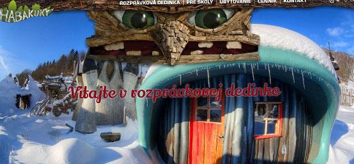 Habakuky - rozprávková dedinka na Donovaloch