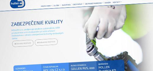 Hollen.sk - nový responzívny dizajn