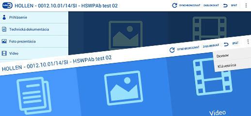Hollen Smart Workplaces – mobilná aplikácia