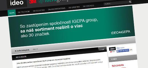 Ideo.sk, autorizovaný distribútor produktov a riešení značky 3M