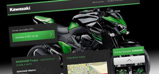 Predaj motocyklov Kawasaki v Trnave