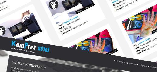 KomPrax súťaž – projekty neformálneho vzdelávania
