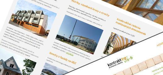 Kontrakting – špecialisti na stavby a konštrukcie z dreva
