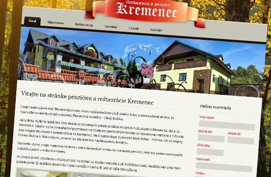 Penzión a reštaurácia Kremenec v srdci Bukovských vrchov