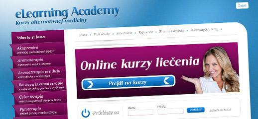 Portál eLearningových kurzov alternatívnej medicíny