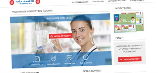 Lekáreň Ružinovská s online službou na recepty