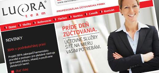 Profesionálna účtovnícka firma - Lucra.eu