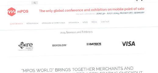 mPOS World – medzinárodná konferencia s novým webom