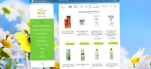 E-shop s kozmetikou a eko drogéria Naturšarm