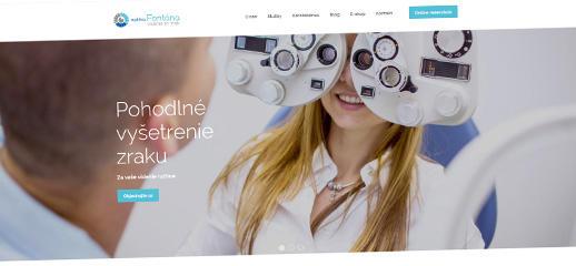 Optika Fontána - nový e-shop