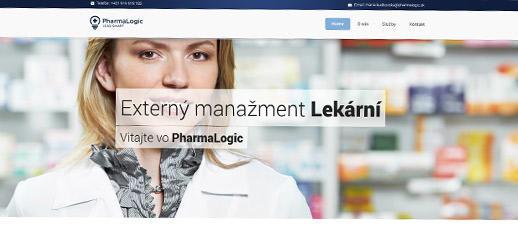 PharmaLogic, s. r. o. - externý manažment lekární
